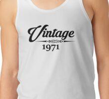 Vintage 1971 Tank Top
