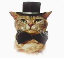 Top Hat Retro Cat Tee! by TheOneJester