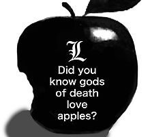 Did you know gods of death love apples? by mejtstupor