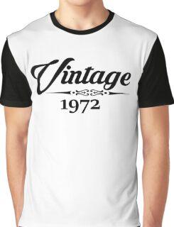 Vintage 1972 Graphic T-Shirt