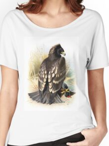 Spotted Eagle illustration Women's Relaxed Fit T-Shirt