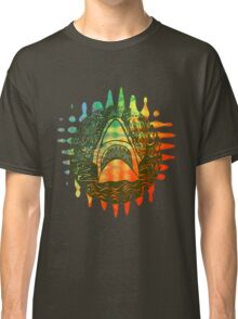 Multi coloured shark  Classic T-Shirt