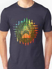 Multi coloured shark  Unisex T-Shirt