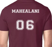 Danny Mahealani Jersey from Teen Wolf - White Text Unisex T-Shirt