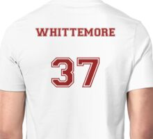 Jackson Whittemore Jersey from Teen Wolf - Red Text Unisex T-Shirt