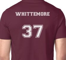 Jackson Whittemore Jersey from Teen Wolf - White Text Unisex T-Shirt