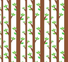Tall trees pattern by mrhighsky