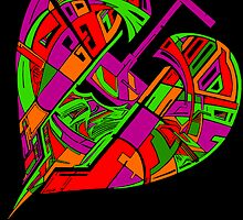 Love Flux in Colour by Ivan Drago