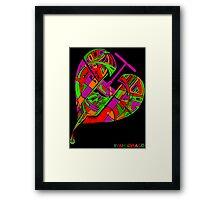Love Flux in Colour Framed Print