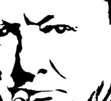 CHURCHILL, Sir Winston Leonard Spencer Churchill, Greatest War Leader Sticker