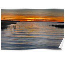 Buck Lake Sunset Poster