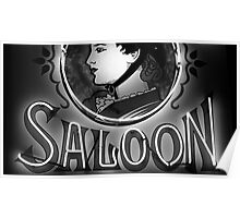 Saloon Lady Poster