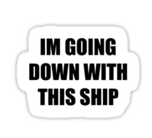 TW Ship Alliance Circle Sticker