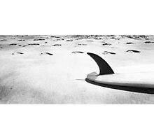 Single fin Surfboard Photographic Print