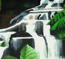 Waterfall Wilderness Sticker