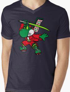 YOSHI-MITSU! Mens V-Neck T-Shirt