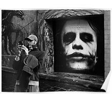 Man and Joker Poster