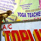Yoga teacher in India-he&#x27;s a monkey! No.2 by wehavegrown