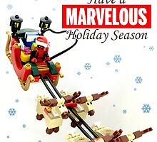 """""""Marvelous"""" LEGO Holiday Card Collection by Ryan Rydalch"""
