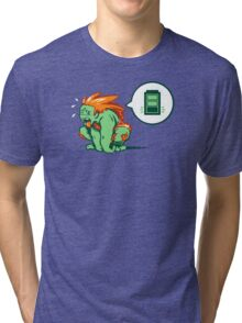 Charge Attack. Tri-blend T-Shirt