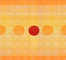 Dots :: Orange, Red and Yellow by Susanne Sachers