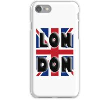 UNION JACK, LONDON, Brits, ENGLAND, IN COLOUR, UK, GB, Britain, BRITISH, iPhone Case/Skin
