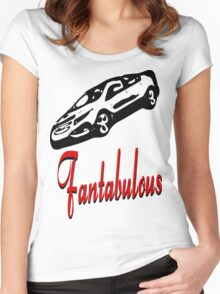 ۞»♥Fantabulous Vintage Sport Car Clothing & Stickers♥«۞  Women's Fitted Scoop T-Shirt