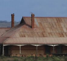 An old farm house Yorke  Peninsula South Australia by R-Summers