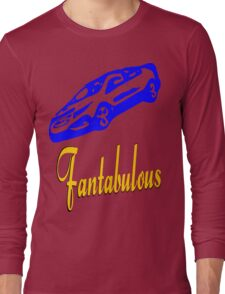 ۞»♥Fantabulous Vintage Sport Car Clothing & Stickers♥«۞ Long Sleeve T-Shirt