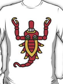 Aztec Scorpion - Codex Laud 38 T-Shirt
