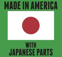 Made In America With Japanese Parts One Piece - Short Sleeve