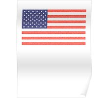 American, Faded Flag, Stars & Stripes, USA, Old Glory, The Star-Spangled Banner, America, Americana, USA Poster