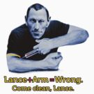 Lance + Arm = Wrong by Andy Hook