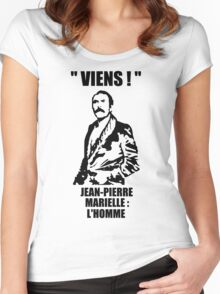 Viens ! - Jean-Pierre Marielle Women's Fitted Scoop T-Shirt