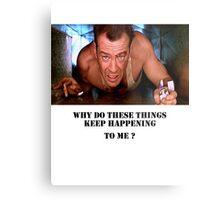Die Hard - Bruce Willis Metal Print