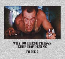 Die Hard - Bruce Willis by Luckyman