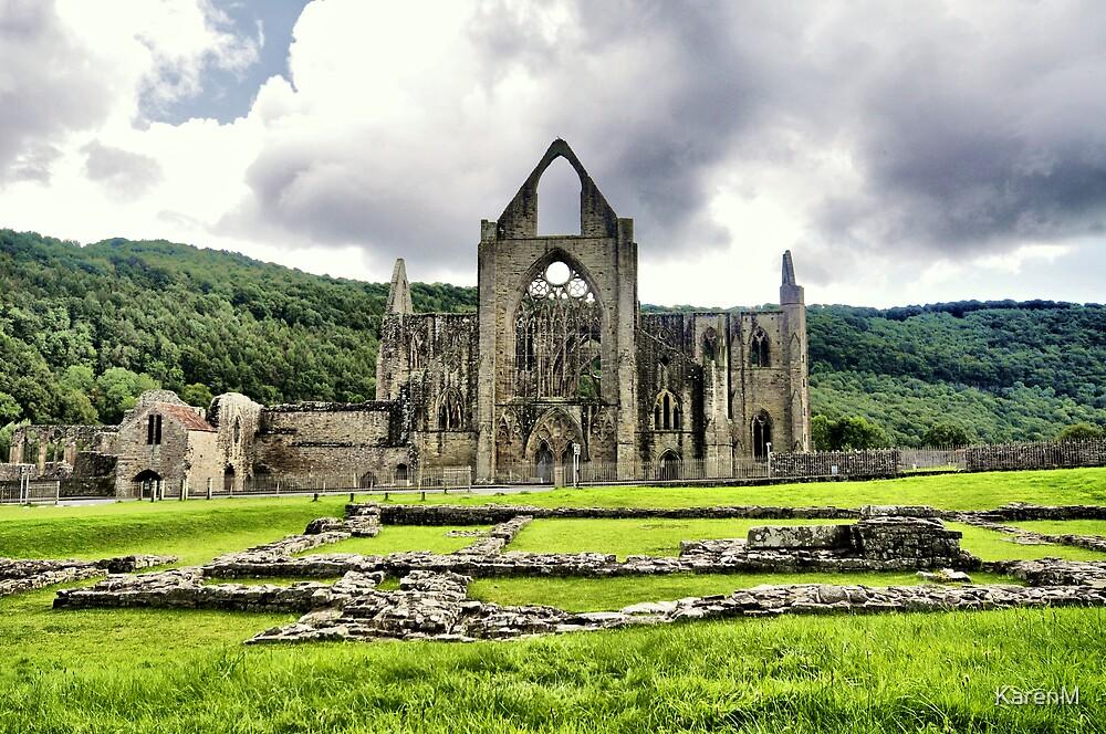 Tintern Abbey by Karen Martin