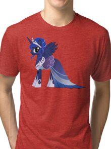 Luna In A Gown  Tri-blend T-Shirt