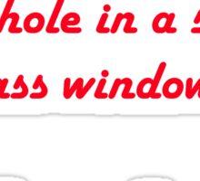Raymond Chandler quotes #1 Sticker