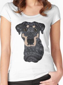 Roxie Puppy Women's Fitted Scoop T-Shirt