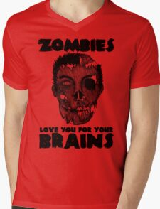Zombies Mens V-Neck T-Shirt