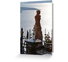 Grecian beauty Greeting Card