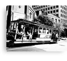 San Francisco Cable Canvas Print