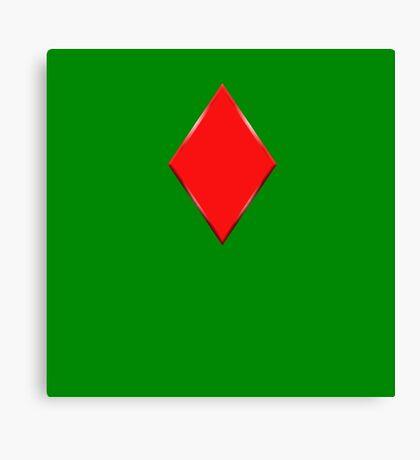 Red Diamond Canvas Print