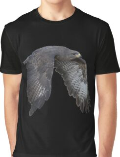 Red Tailed Hawk Graphic T-Shirt