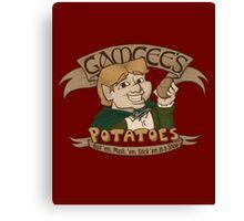 Gamgee's Potatoes Canvas Print