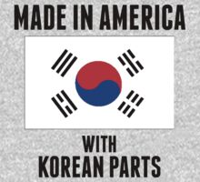 Made In America With Korean Parts One Piece - Short Sleeve