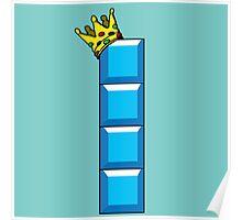 Tetris King Poster