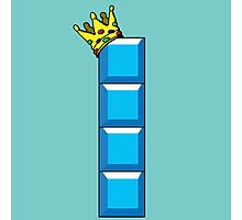 Tetris King Photographic Print