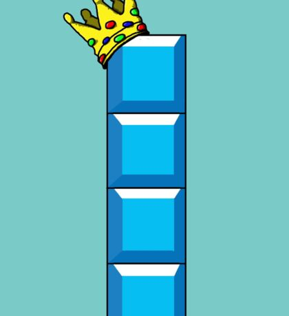 Tetris King Sticker